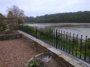 Metal railings Cornwall