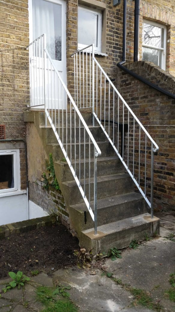 Galvanised Handrails London