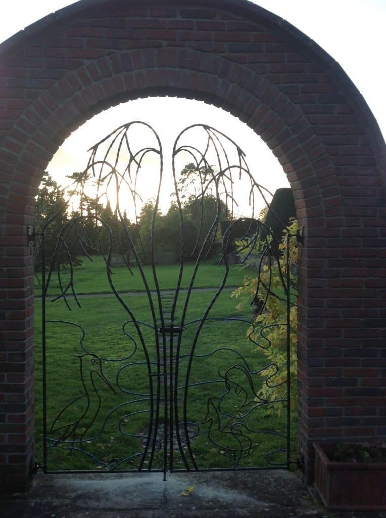 Bespoke wrought iron gate