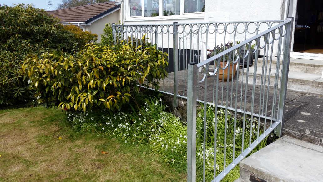 handrails galvanised cornwall