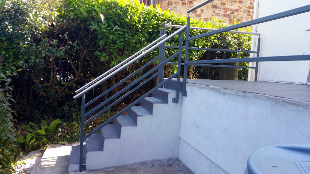 stainless steel handrails cornwall