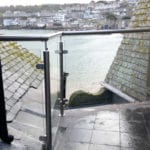 cornwall glass balustrade