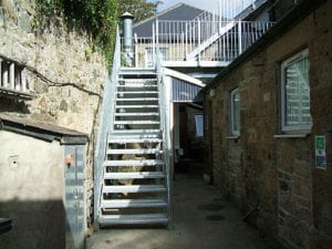 fire escape cornwall