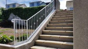 galvanised handrails cornwall