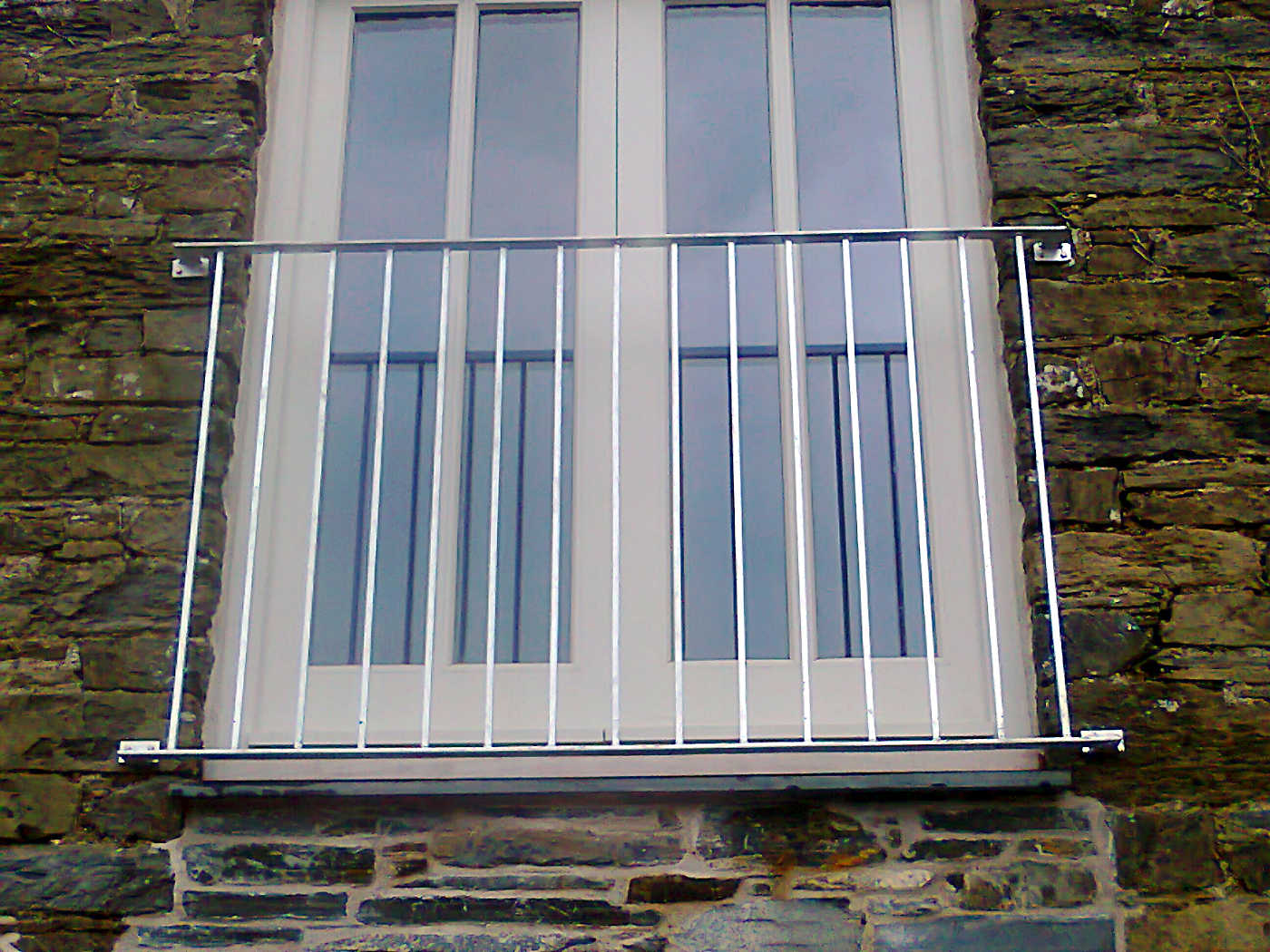 Balconies jays gates for Stainless steel balcony