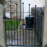 metal arched gate cornwall