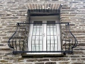 metal juliette balcony cornwall
