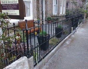 metal railings cornwall