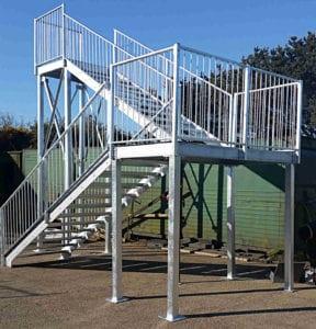 metal stairs cornwall