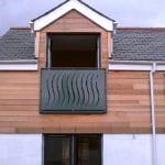 modern juilette balcony
