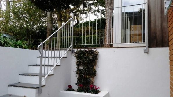 modern safety handrails