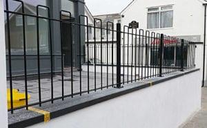 modern style railings