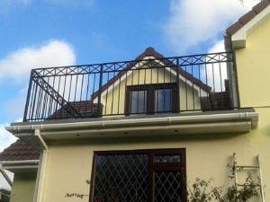 painted balcony railings