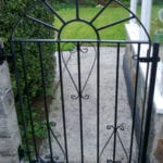 powder coated gate cornwall