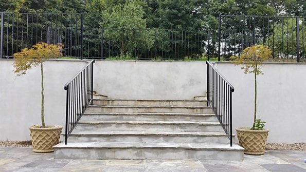 powder coated handrails cornwall