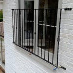 powder coated juliette balcony