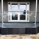 safety glass balustrade