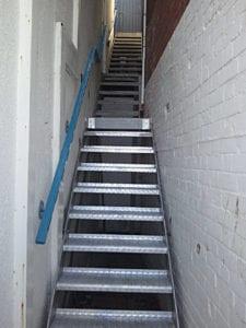 Internal Galvanised Stair