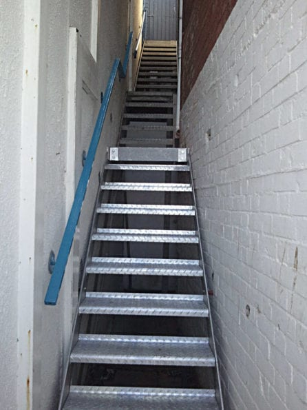 Internal Galvanised Stair