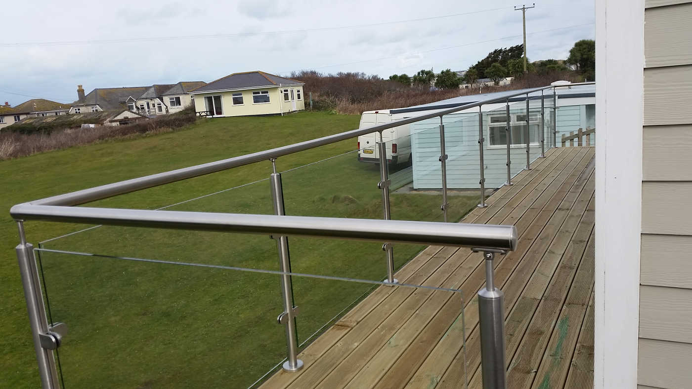 Balustrades Internal And External Stainless Steel Amp Glass