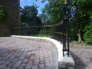 wrought iron railings cornwall