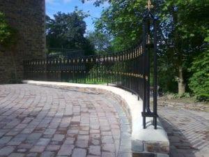 wrought iron railings cornwall
