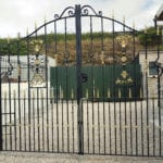 Metal Gates in Cornwall at Jays Gates Showroom