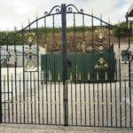 Metal Gates in Cornwall at Jays Gates Showroom
