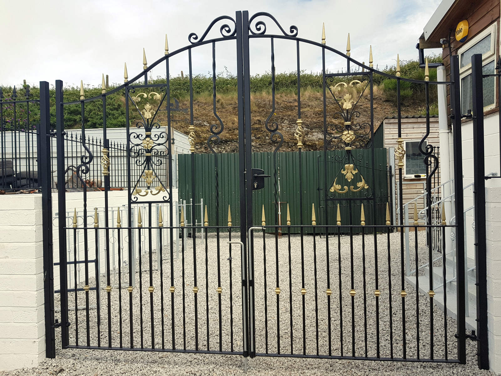 Ornamental Metal Gates Secure Amp Enhance Your Property