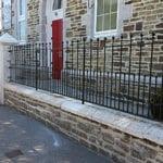 Church railings Illogan