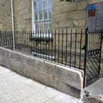 lemon street Truro railings - Cornwall.