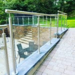 wall top balustrade
