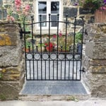wrought iron gate cornwall